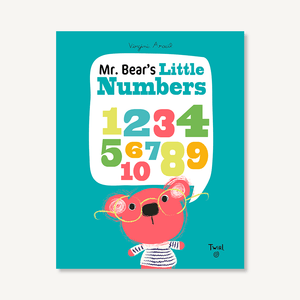 'Mr. Bear's Little Numbers' Book | by Virginie Aracil