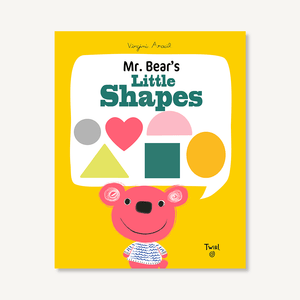 'Mr. Bear's Little Shapes' Book | by Virginie Aracil