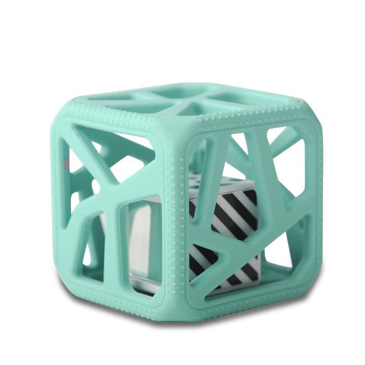 Malarkey Kids | Chew Cube | Mint Green