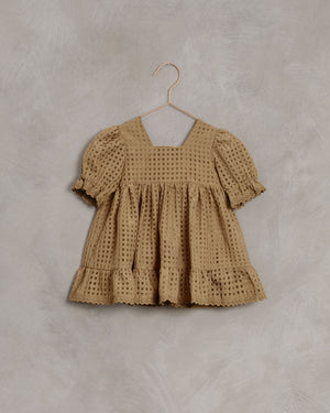 Noralee | Quinn Dress | Golden Check