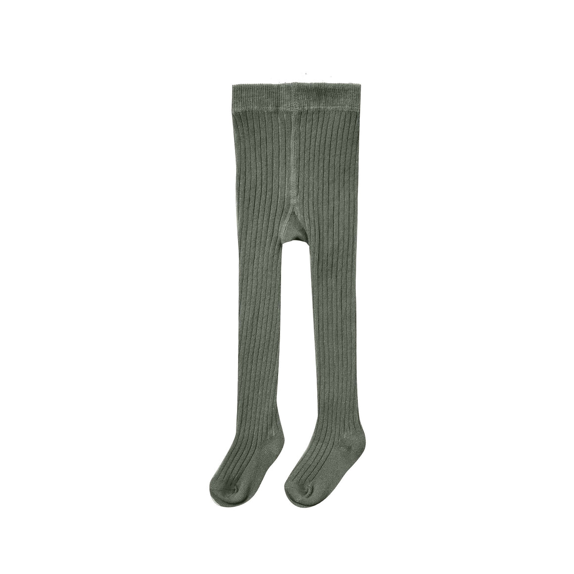 Rylee and Cru | Enchanted Forest Rib Knit Tights | Forest