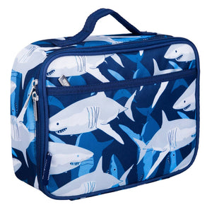 Wildkin Olive Kids | Sharks Lunch Box