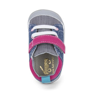 See Kai Run | Stevie II First Walker | Blue Gray