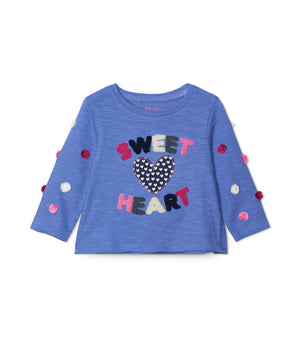 Hatley | Sweet Heart Long Sleeve Baby Tee