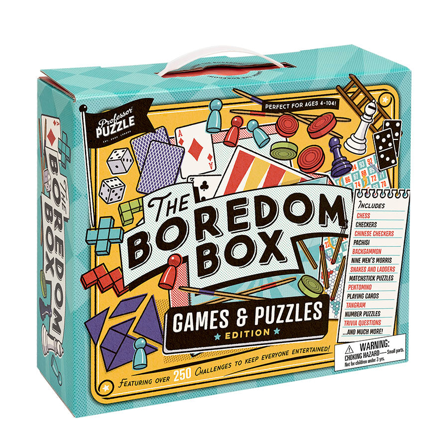Professor Puzzle | Indoor Boredom Busting Box