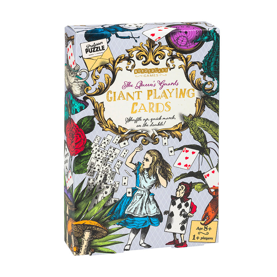 Professor Puzzle | The Queen's Guards Giant Playing Cards
