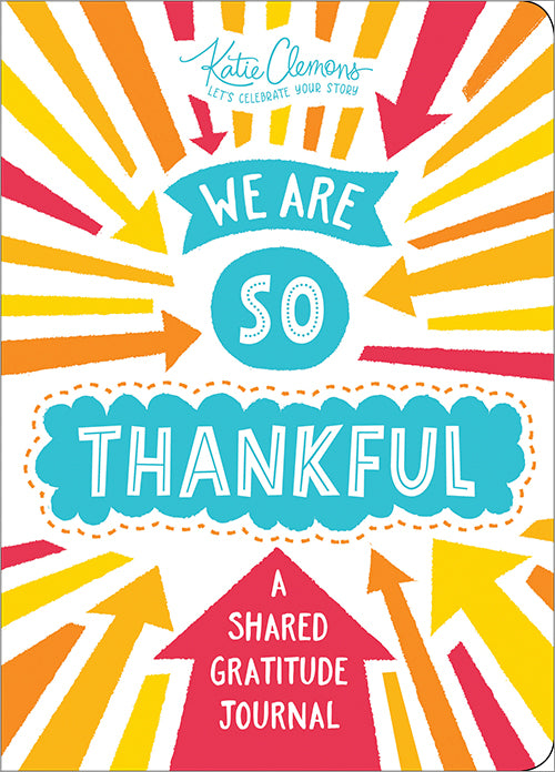 'We are so Thankful' | A Shared Gratitude Journal | by Katie Clemons