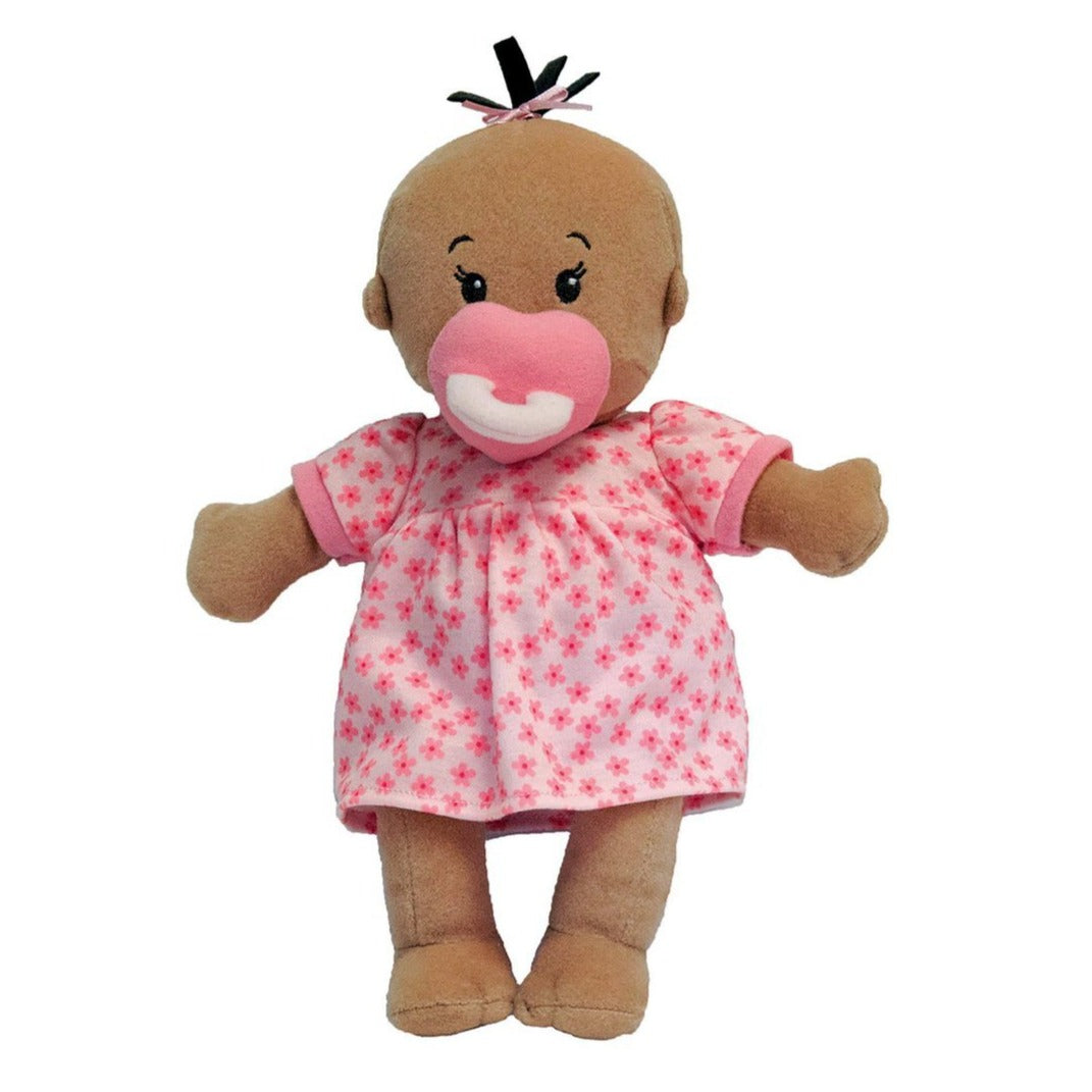 Manhattan Toy | Wee Baby Stella Doll Beige, Soft Plush Baby Doll