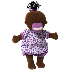 Manhattan Toy | Wee Baby Stella Doll Brown, Soft Plush Baby Doll