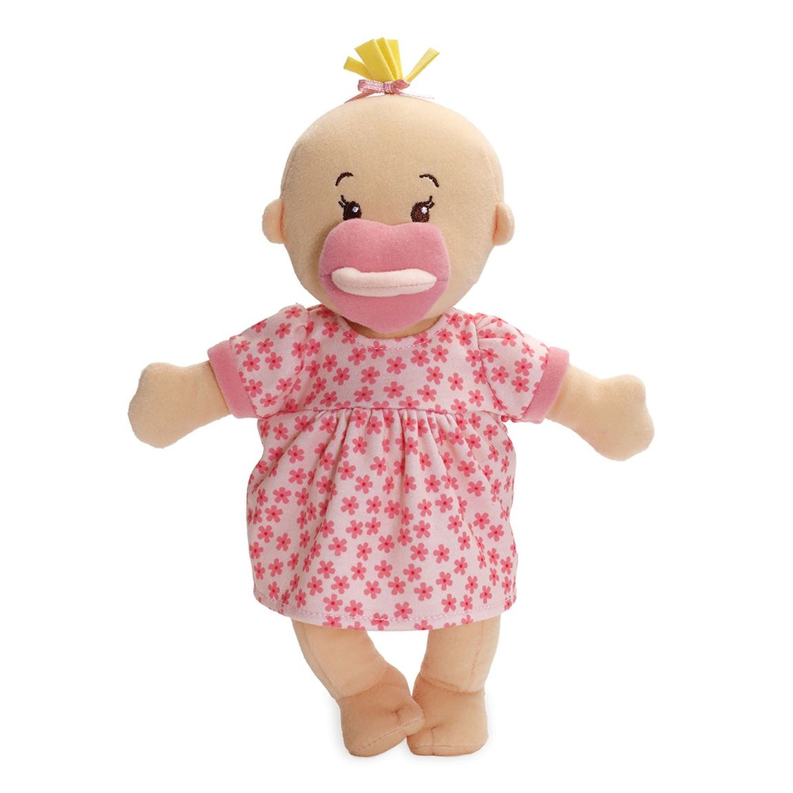 Manhattan Toy | Wee Baby Stella Doll Peach, Soft Plush Baby Doll