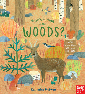 'Who's Hiding in the Woods' Book | by Nosy Crow; Illustrated by Katharine McEwen