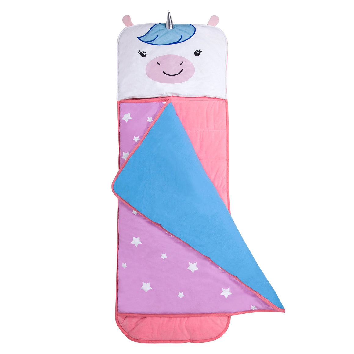 Wildkin Olive Kids | Wild Bunch Unicorn Plush Nap Mat