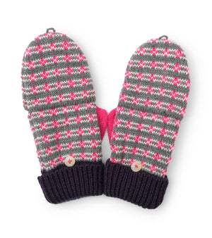 Hatley | Winter Hearts Finger Flip Mittens