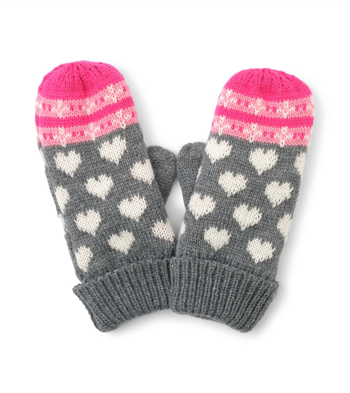 Hatley | Winter Hearts Fleece Lined Mittens