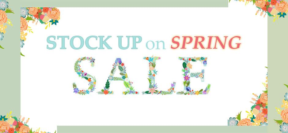 Save up to 75% off on Spring and Summer Styles