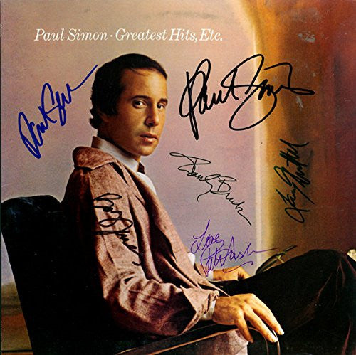 Paul Simon Band Signed Greatest Hits, Etc. Album - Zion Graphic Collectibles