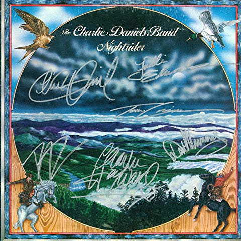 Charlie Daniels Band Signed Nightrider Album