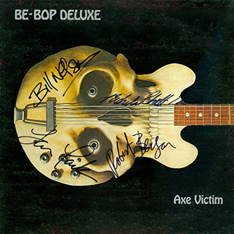 Be Bop Deluxe Band Signed Axe Victim Album