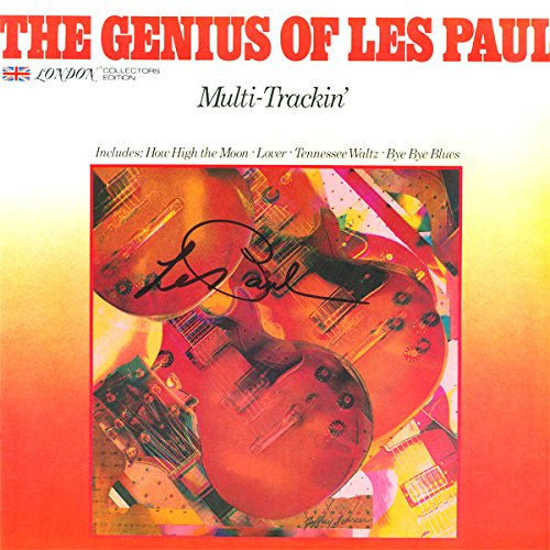 Les Paul Signed the Genius of Les Paul Album