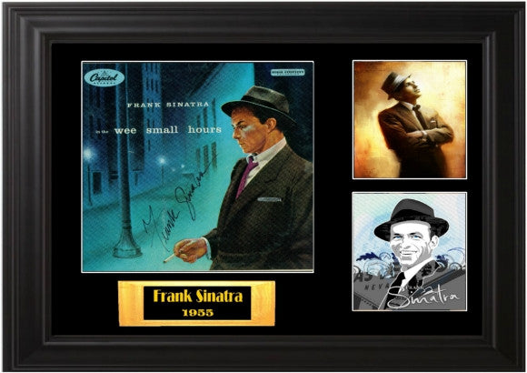 Frank Sinatra Autographed lp - Zion Graphic Collectibles