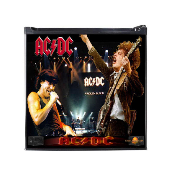 AC/DC Classic Man Cave Refrigerators - Zion Graphic Collectibles