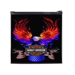 Harley Davidson Classic Man Cave Refridgerator - Zion Graphic Collectibles