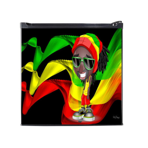 Copy of Rasta Classic Man Cave Refridgerator - Zion Graphic Collectibles