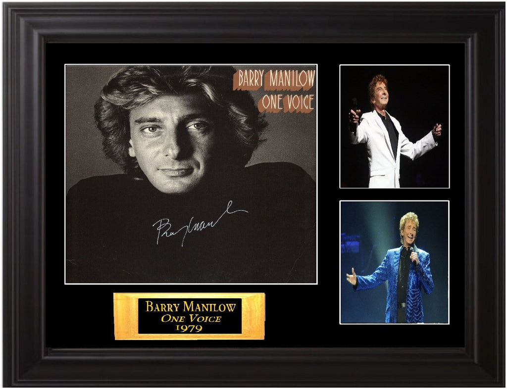 Barry Manilow Signed Album
