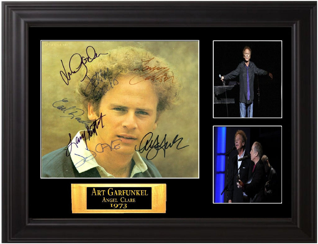 Art Garfunkel Band Signed Angel Clare Album - Zion Graphic Collectibles