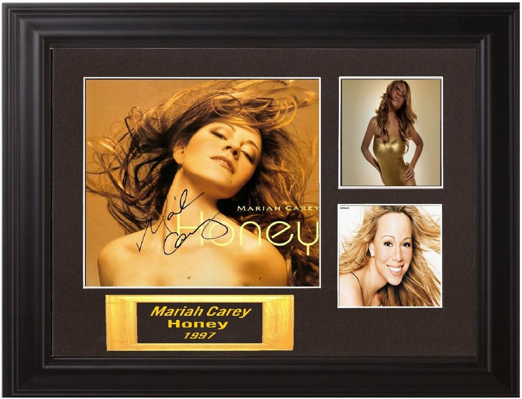 Mariah Carey Autographed Lp - Zion Graphic Collectibles