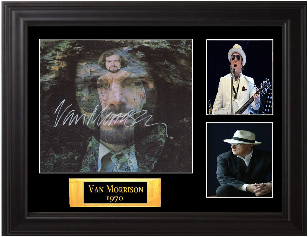 "Van Morrison Signed Album Lp ""His Band and the Street Choir"" - Zion Graphic Collectibles"