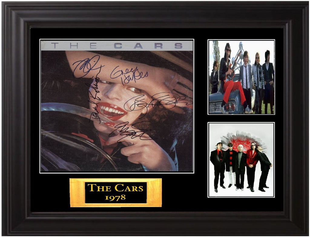 The Cars Autographed Lp - Zion Graphic Collectibles