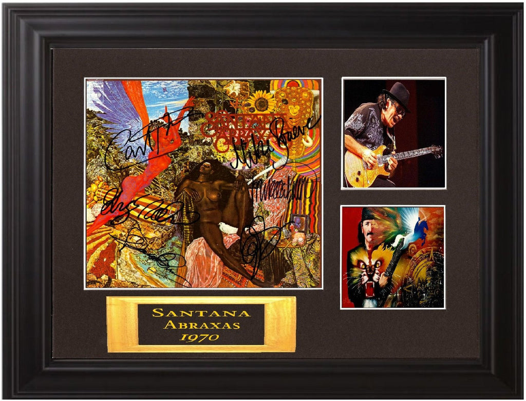 Santana Band autographed LP - Zion Graphic Collectibles