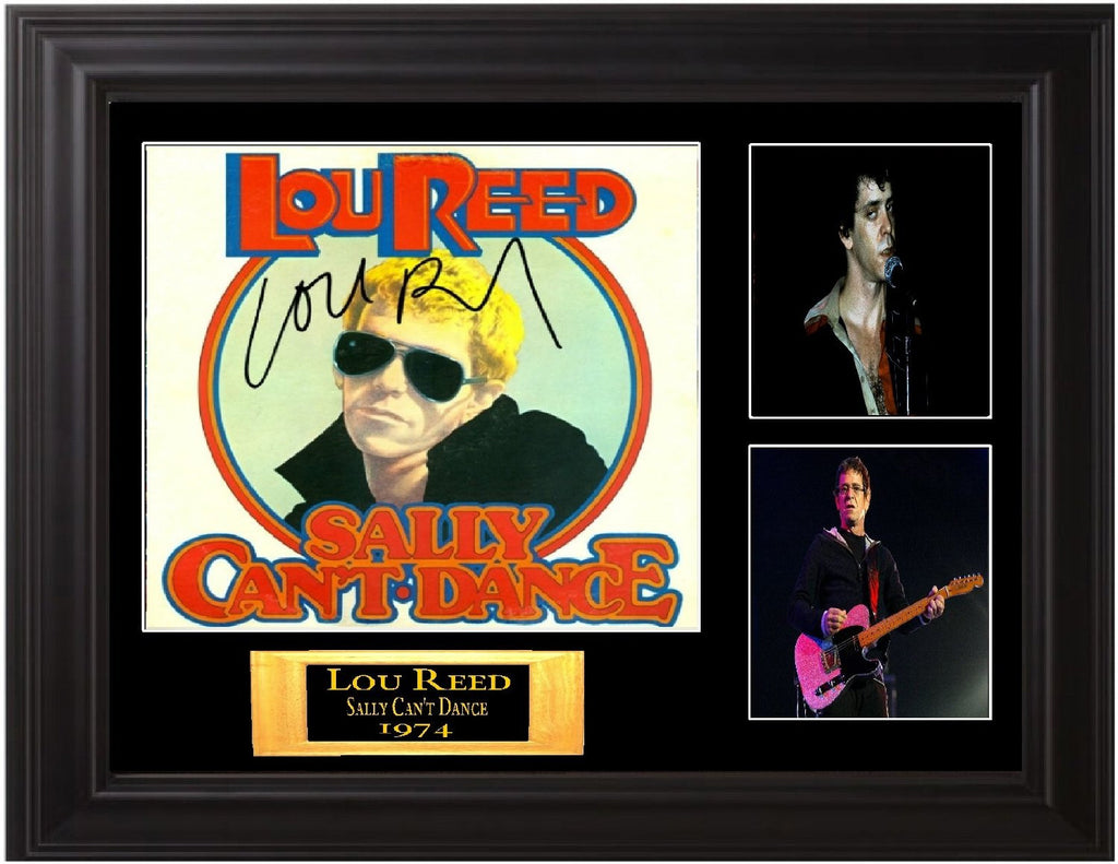 Lou Reed Autographed Lp - Zion Graphic Collectibles