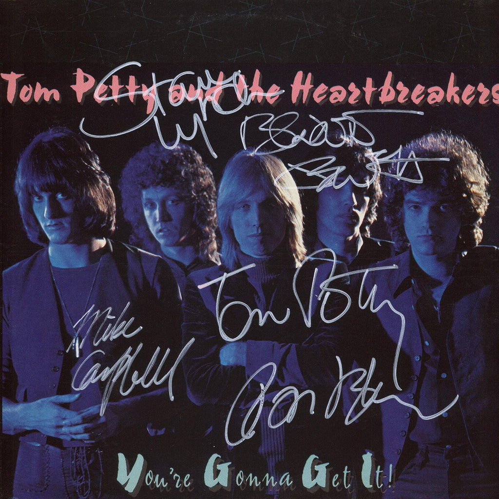 Tom Petty and the Heartbreakers Band Signed You're Gonna Get It Album - Zion Graphic Collectibles
