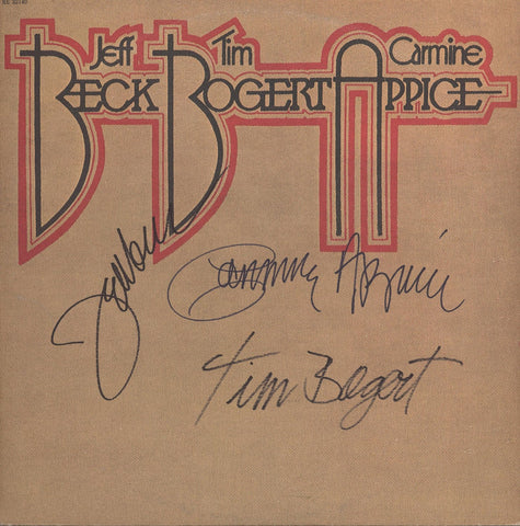 Beck, Bogert & Appice Signed Lp