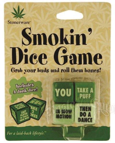 Smokin Dice Game - Zion Graphic Collectibles