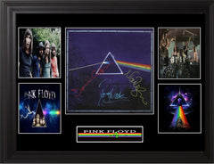 Pink Floyd Autographed 30th aniversary DarkSide Of The Moon LP Flat - Zion Graphic Collectibles