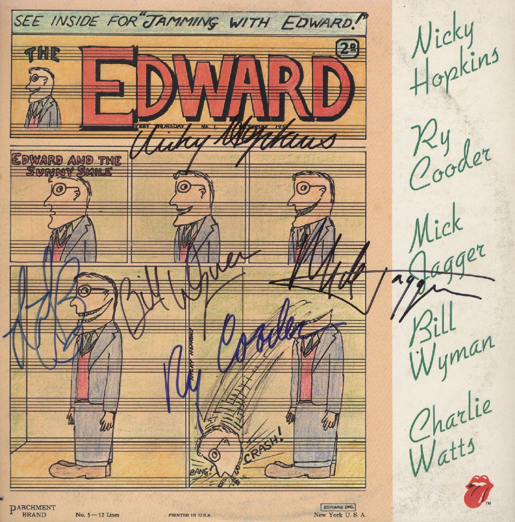 Jamming with Edward Autographed lp