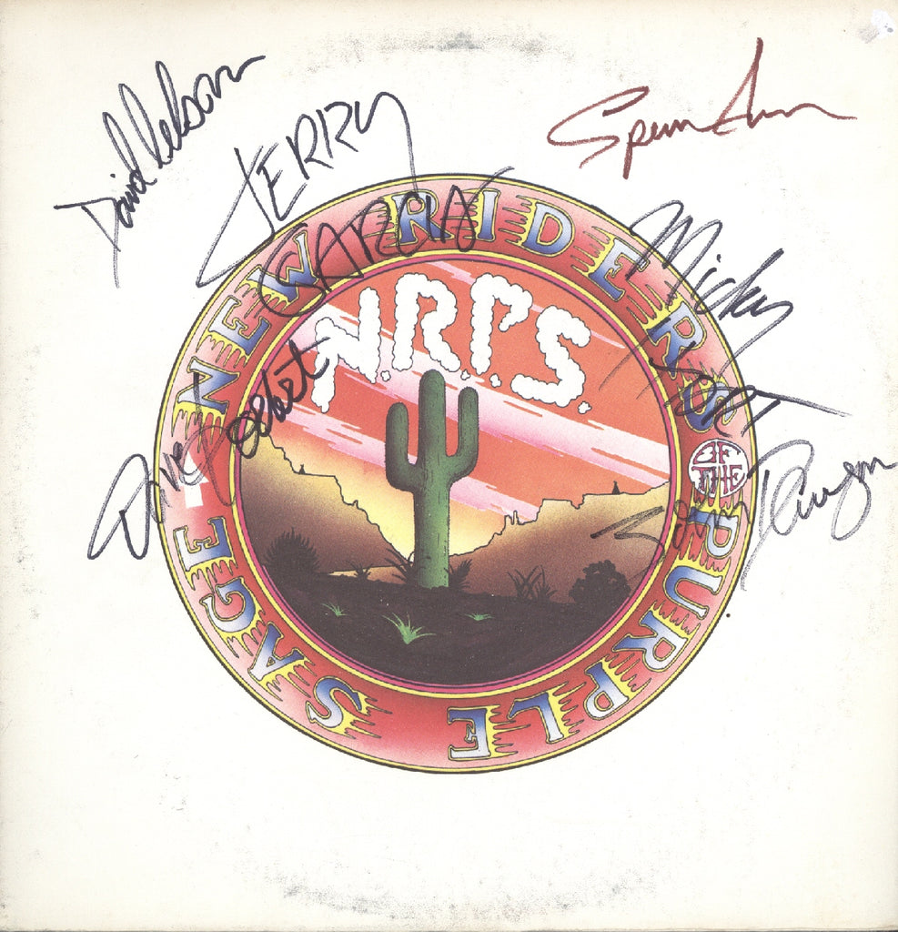 New riders of the purple sage Autographed lp w/ Gerry Garcia - Zion Graphic Collectibles