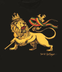 Conquering Lion of Judah Black Hoodie - Men's