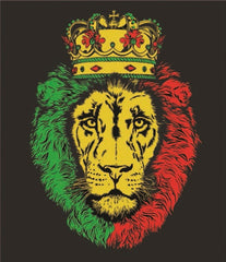 Crowned Lion of Judah Black T-Shirt – Men's - Zion Graphic Collectibles