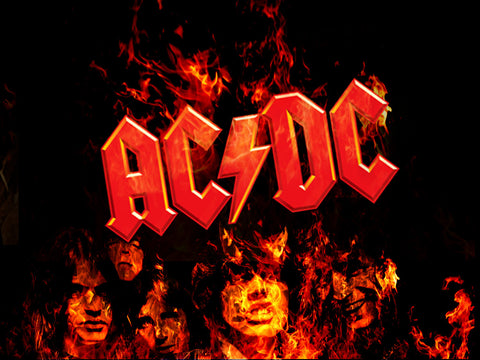 AC/DC Classic Poster