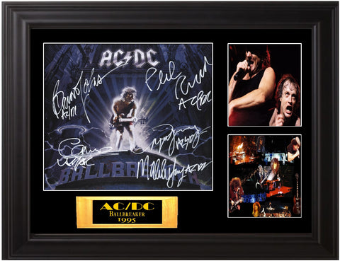 "AC/DC Autographed ""Ball Buster"" Lp"