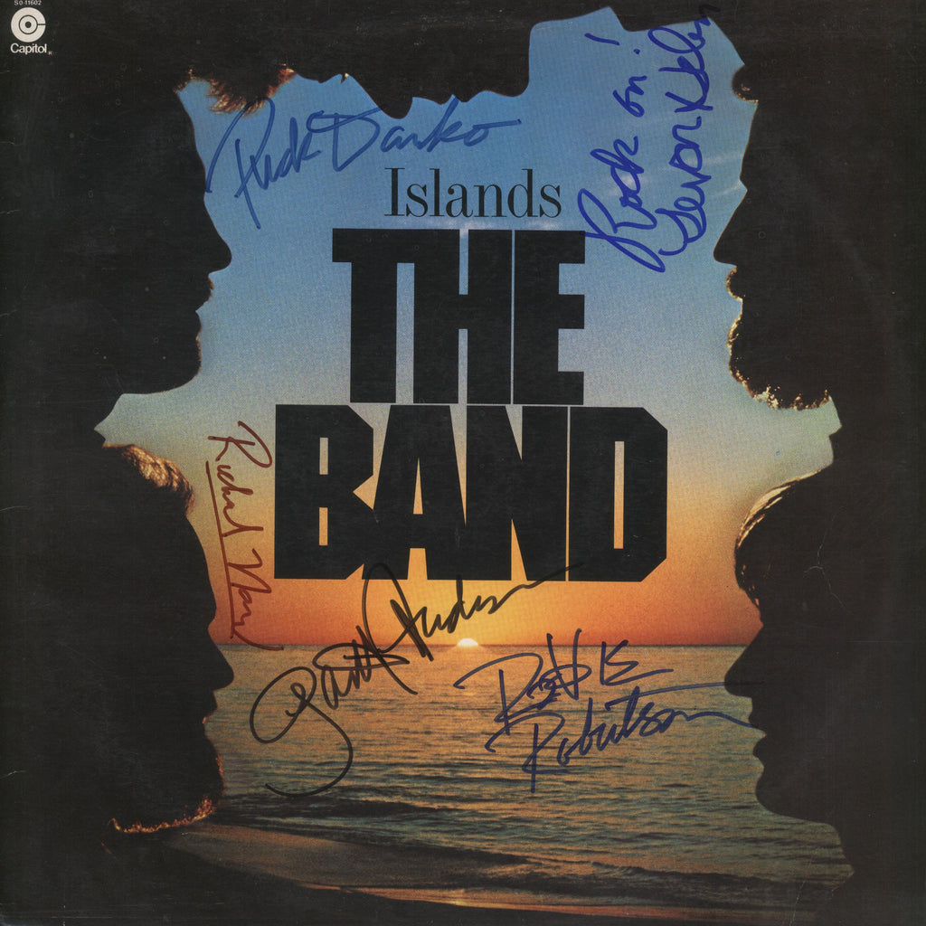 The Band  Signed Islands Album - Zion Graphic Collectibles