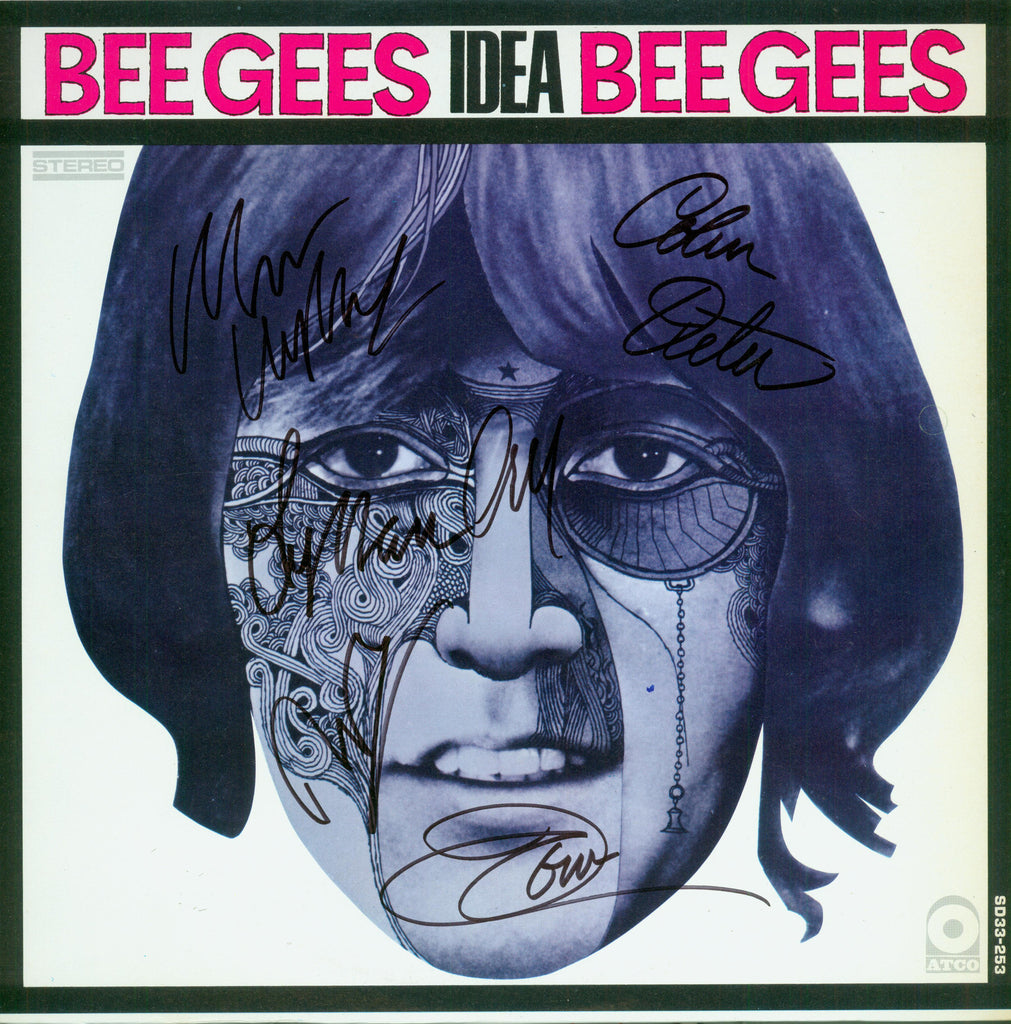 Bee Gees Autographed LP - Zion Graphic Collectibles