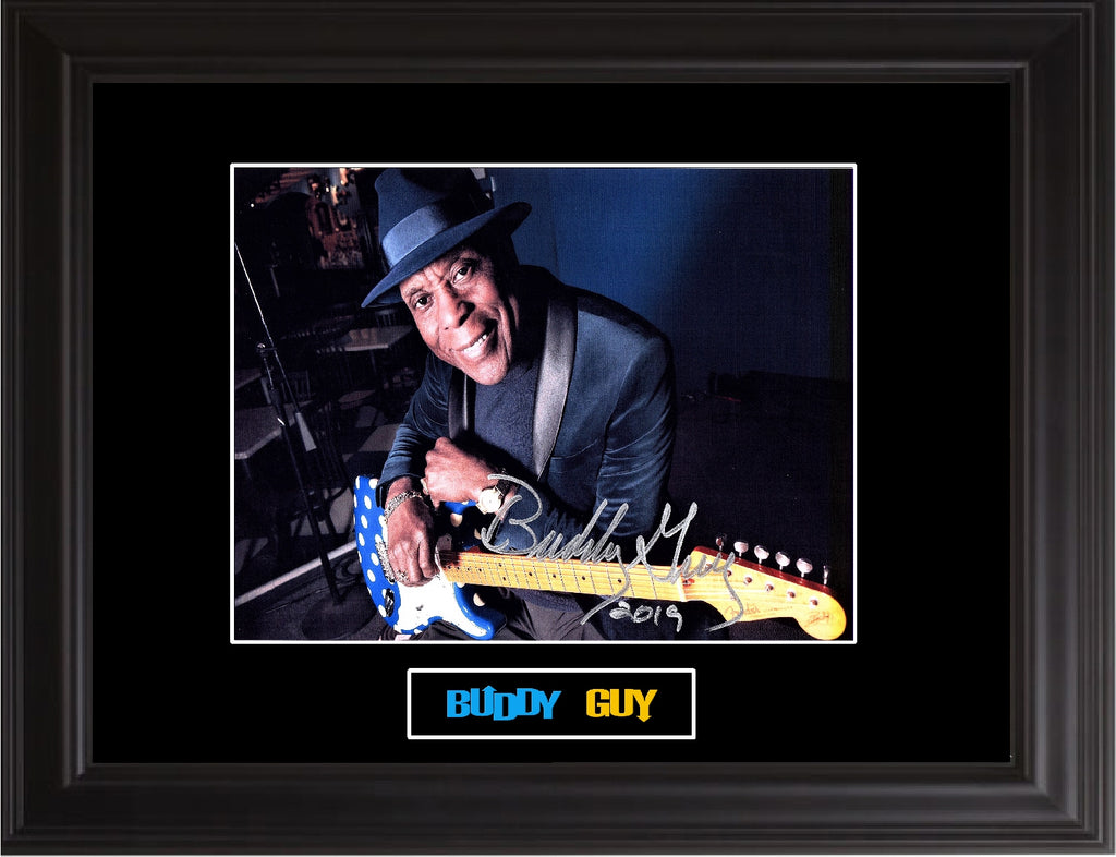 Buddy Guy Autographed Photo - Zion Graphic Collectibles