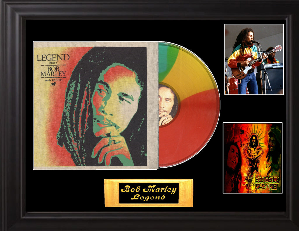 Bob Marley & the wailers Legend w/ Hemp cover Display - Zion Graphic Collectibles