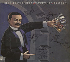 Blue Oyster Cult Autographed LP - Zion Graphic Collectibles