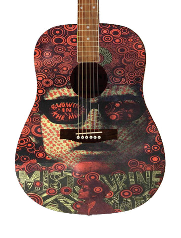 Bob Dylan Custom Guitar